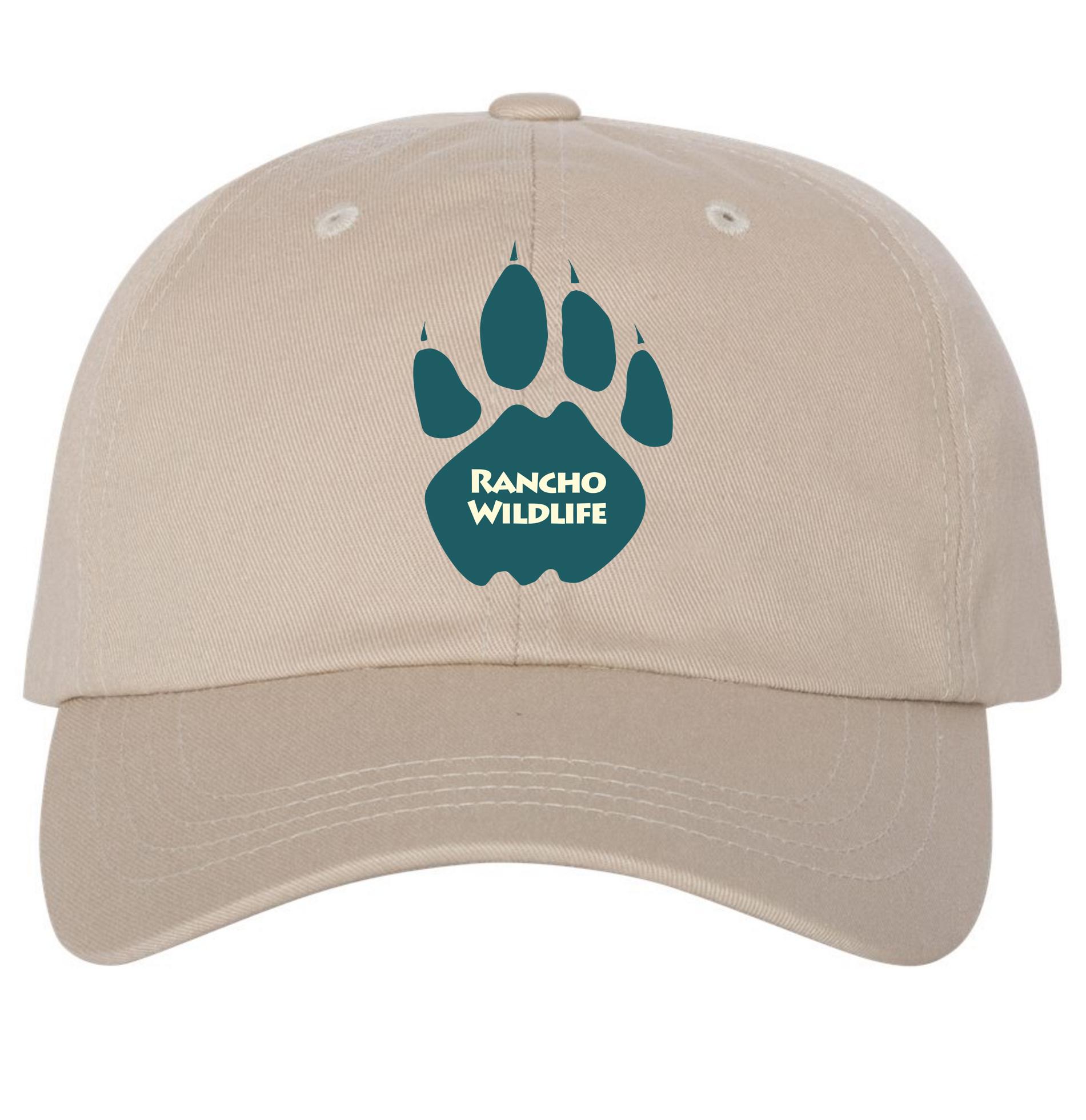 249e418d89e RANCHO WILDLIFE STONE DAD HAT - Merchwide Inc